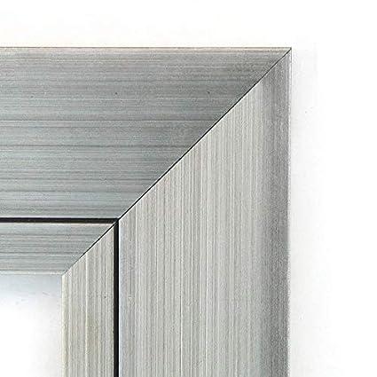 amazon com svitlife wall mirror large romano silver 36 x 30 inch