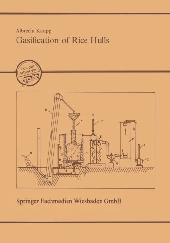 Gasification of Rice Hulls: Theory and Praxis (German Edition) by Kaupp, Albrecht (2013) Paperback (Rice Hull Garden)