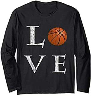 ⭐️⭐️⭐️ I Love Basketball long sleeve  Basketball Lovers Tee Need Funny Tee Shirt Need Funny Short/Long Sleeve Shirt/Hoodie