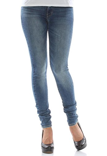 Rise Skinny High W Jeans 721 Blue Levi's qEaxO4wE