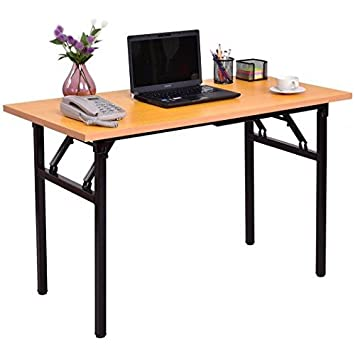 MDF Table Top + Steel Legs Folding Table With Ebook