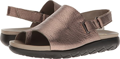 - Aerosoles Women's Boulevard Bronze Leather Sandal
