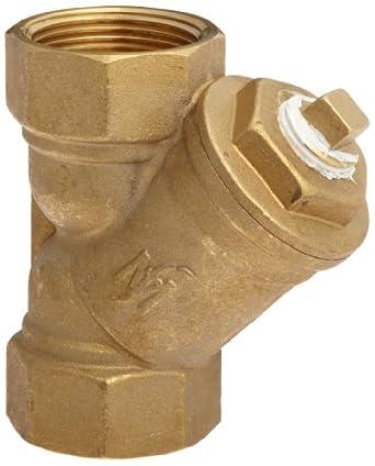 """Flexicraft YBT Bronze Wye Strainer with Thread End, 1-1/4"""" ID x 5-5/16"""" Length"""