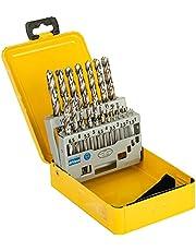Dewalt Metallborrsats DT5923 (19-delat set i metallkassett, tillverkad av högpresterande snabbskärstål (HSS) enligt DIN 338)