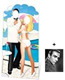 SECRET AGENT SPY STAND-IN - LIFESIZE CARDBOARD CUTOUT (STANDEE / STANDUP) - Includes 8x10 (20x25cm) Star Photo