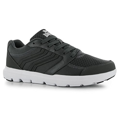 Mens Charcoal Trainers Lonsdale Casual Footwear Shoes Sneakers Xenon gWSgOwxnZ