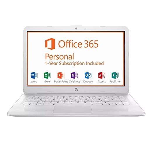 "Newest 2019 HP Stream/Notebook 14 14"" FHD IPS Micro-Edge Laptop - Intel Celeron N3060/Pentium N5000 4GB RAM 64GB eMMC BT HDMI WLAN Webcam USB 3.1 1-yr Office 365 Win 10 S -Extra SD Card 128GB/256GB"