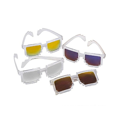 Pixel Mirror Sunglasses by Bargain World