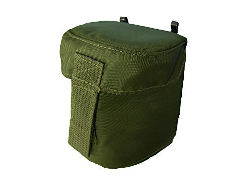 OD Green Padded Protective Lens Pouch for 2.5X 3X Night Vision Magnifier or Camera Lens, P/N A3187448 by ITT