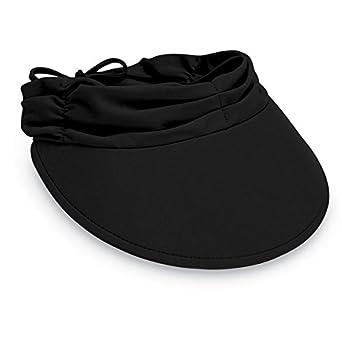 a43765be Wallaroo Hat Company Women's Aqua Sun Visor – Ready for Adventure, Designed  in Australia,