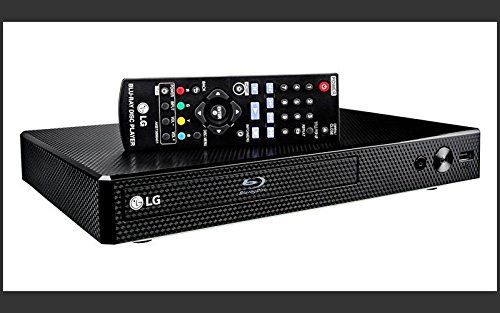 LG BPM35 BP350 Blu-Ray Disc Player with Built-In Wi-Fi & Apps (Renewed)
