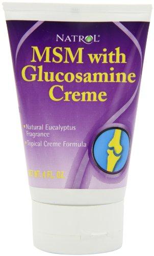 Natrol Glucosamine Creme 4 Ounce Tube