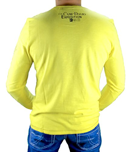 Camp David Shirt Deep Sea I INDUTRIAL Yellow CCB-1709-3736 XL XXL
