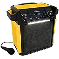 Ion Audio Pathfinder Yellow Waterproof Rechargeable Speaker System