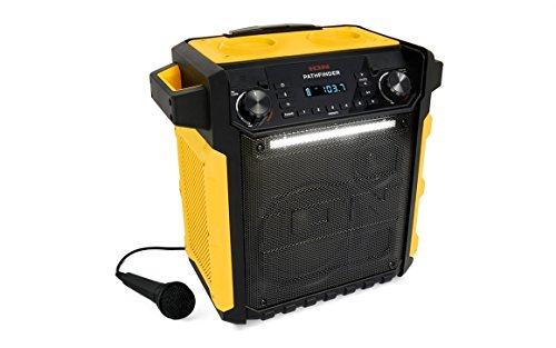 Ion Audio Pathfinder Yellow Waterproof Rechargeable Speaker System by ION Audio