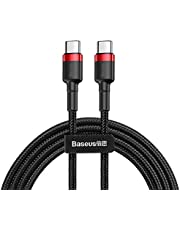 Baseus Quick Charge Cable 2M (Type C - Type C) 4.0 PD 60W Nylon Braided for Galaxy and Huawei