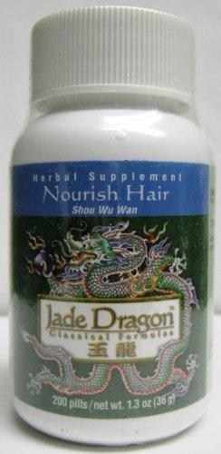 Nourish Hair, Shou Wu Wan, 200 Pills (Shou Hair Wu)