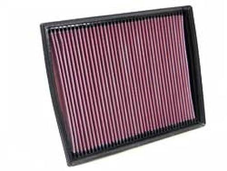 K & N sportluftfilter 33 – 2787, intercambio filtro de aire para coche