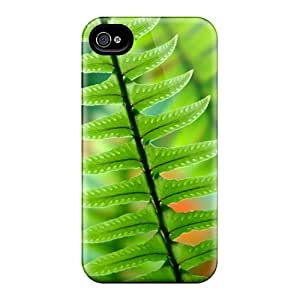 For Iphone 4/4s Fashion Design Green Ferns Case by mcsharks