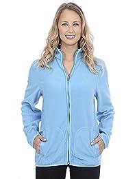 Nuage Sport Activewear Fleece Zip Up Jacket
