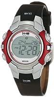 Timex Unisex T5G841 1440 Sports Digital Silver-Tone/Black Resin Strap Watch from Timex