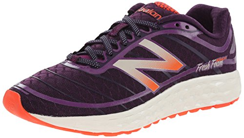 New Balance Women's W980 Boracay Running Shoe, Purple/Pink, 6.5 B US