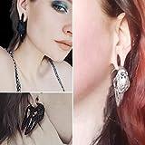 Casvort 2 PCS Bird Ear Hanger Weight Stainless