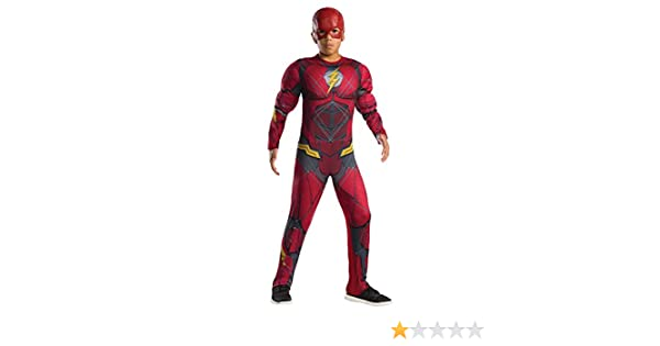 Amazon.com: Rubies Toddler Muscle Chest The Flash Costume ...