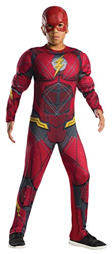 Rubie's Child Justice League The Flash Muscle Chest Costume (Small)