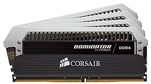 Corsair C17 - Intel 100/200 Series DOMINATOR Platinum 32GB (4x8GB) DDR4 3733 (PC4-29800) PC Memory (CMD32GX4M4B3733C17)