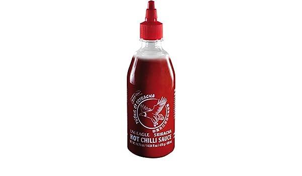 Uni Eagle Salsa de Chili Picante Sriracha - 475 gr: Amazon.es: Alimentación y bebidas