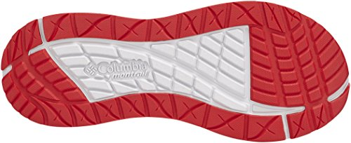 Columbia Molokai III Sandals Men Monument/Bright Red Schuhgröße US 13 | 46 2018 Sandalen