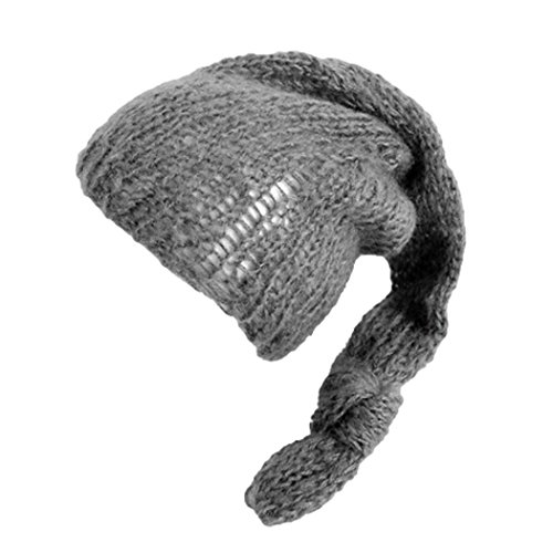 GBSELL Newborn Baby Photography Props Hand Knit Hats (Dark ()