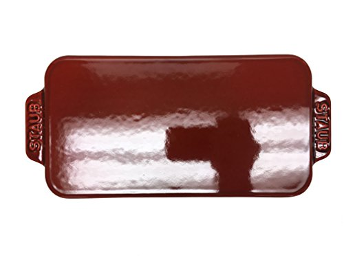 Used, Staub Loaf Pan 1.5 Qt. (Red) for sale  Delivered anywhere in USA