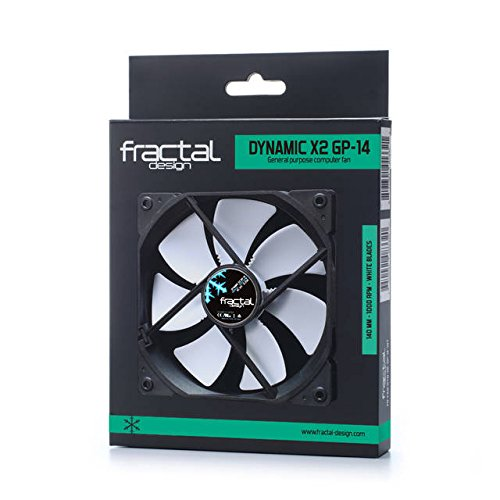 Build My PC, PC Builder, Fractal Design FD-FAN-DYN-X2-GP14-WT