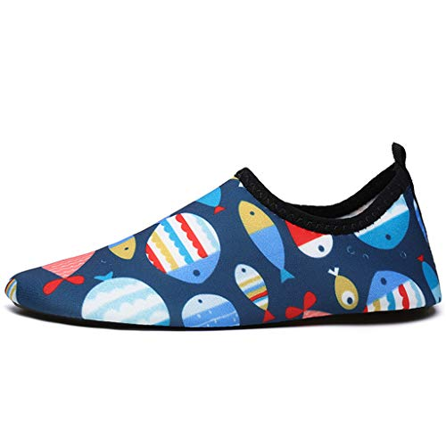 Mens Womens Water Sports Shoes Quick Dry Aqua Socks Barefoot Yoga Socks for Diving Swim Surf Aqua Walking Beach -