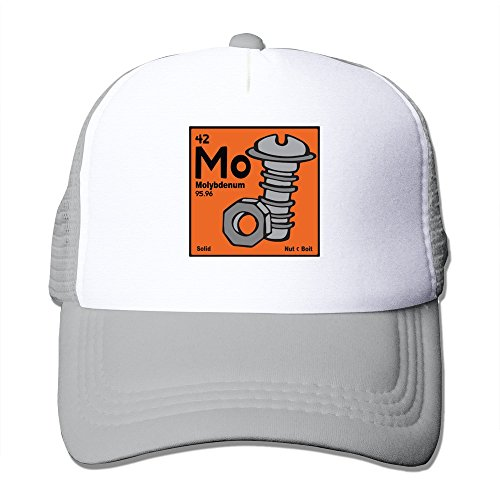 WZN Molybdenum The Classic Periodic Table Hats With Ash ()