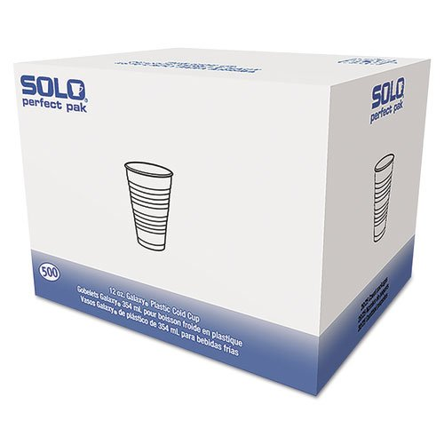 Solo Cup Company OFY12P0100 Galaxy Translucent Cups, 12 oz.