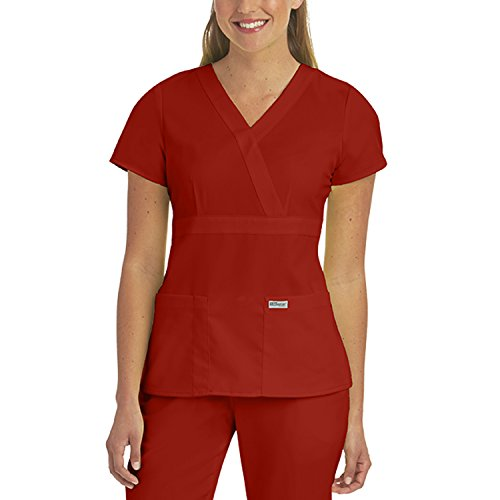 Greys Anatomy Junior Fit Three Pocket Mock Wrap