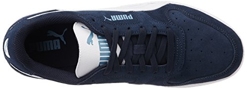 Puma SD Blau Top Peacoat Rock Erwachsene Low white White 18 Ridge Trainer Unisex Icra rxWw6qrI