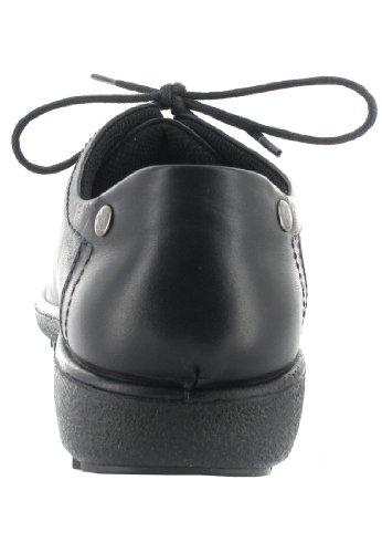 ROMIKA - Damen Halbschuhe - Schwarz Schuhe in Übergrößen