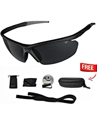 Polarized UV400 Sport Sunglasses Anti-Fog Ideal for Driving or Sports  Activity c95f474d6c