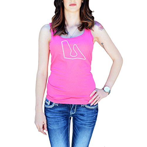 Race Track Ring - Women's Red Bull Ring Race Track Map Tank Top Medium Pink