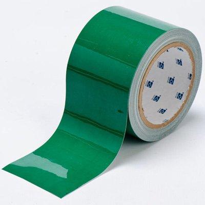 Brady ToughStripe Nonabrasive Floor Marking Tape, 100' Length, 2