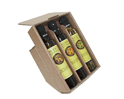 3- bottle Citrus Gift Pack (250ml Bottles) Blood Orange Avocado Oil