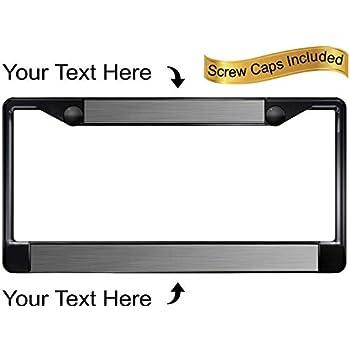 Chrome METAL License Plate Frame ARIZONA CURSIVE Auto Accessory 1060