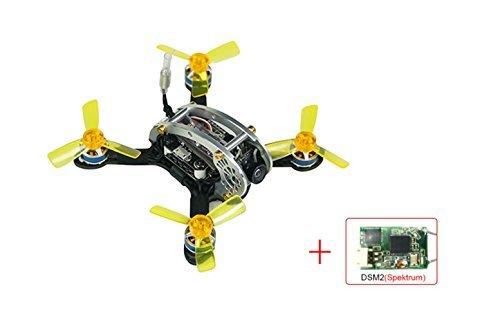 KINGKONG/LDARC Mini Drone Fly Egg 130 PNP FPV Racing Mini Indoor Brushless Drone Quadcopter DSM/2 Receiver
