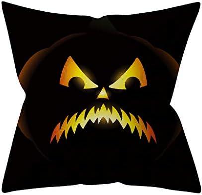 LSAltd Dekokissenbezug Halloween Pumpkin Dekorative Sofakissenbezug