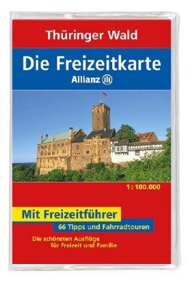 Die Allianz Freizeitkarte Thüringer Wald 1:100 000