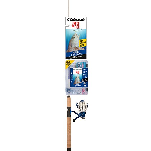 Inshore Fish - Shakespeare CMF2INSHORE Catch More Fish Inshore Spinning Fishing Reel Rod